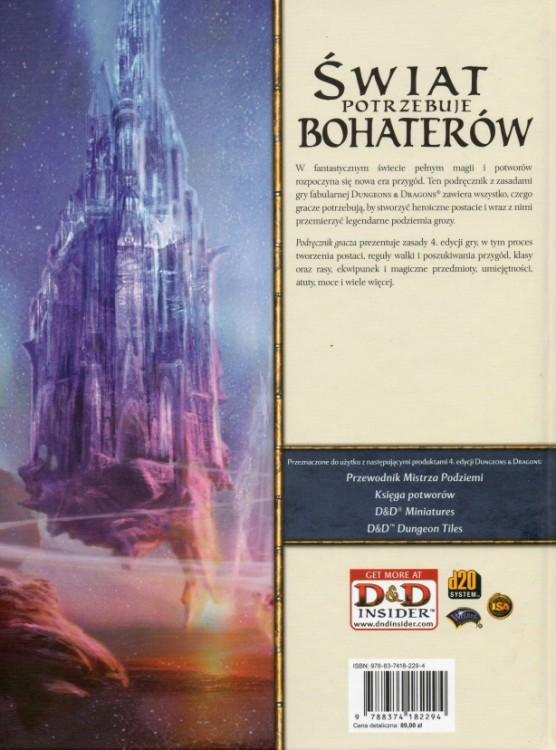 d&d 4.0 podręcznik gracza pdf