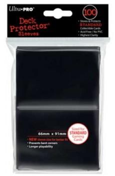 Koszulki Ultra Pro matowe czarne (100)