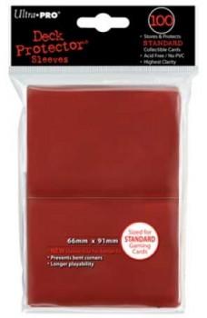 Koszulki Ultra Pro matowe czerwone (100)