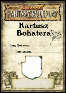 Warhammer FRP: Kartusz Bohatera