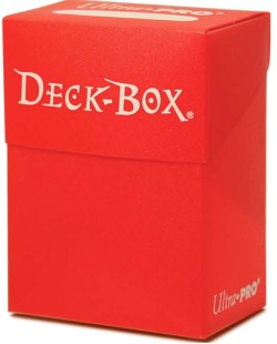 Pudełko na talię - Czerwone