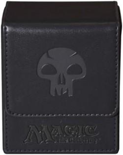 Pudełko na 100 kart MTG - Black Mana Flip Box
