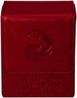 Pudełko na 100 kart MTG - Red Mana Flip Box