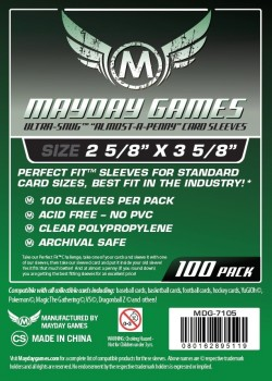 Koszulki MDG - Ultra-fit Standard Card Game Sleeves
