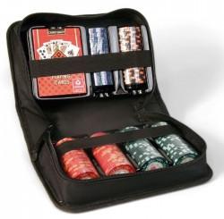 Zestaw Pokerowy Cartamundi - Compact 150 żetonów