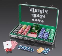 Zestaw Pokerowy Piatnik  Poker Set 300 żetonów
