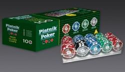 Zestaw Pokerowy Piatnik Pro Poker Set 100