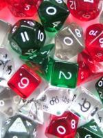 Kostki w kompletach: Kryształy