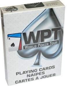 Talia Kart Bicycle - World Poker Tour