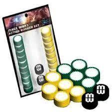 Mage Wars: Action Marker Set