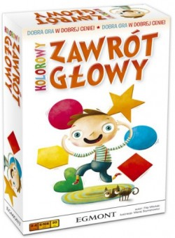 Kolorowy zawrt gowy
