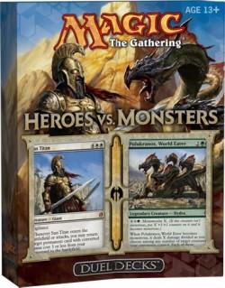 Heroes vs Monsters Duel Deck