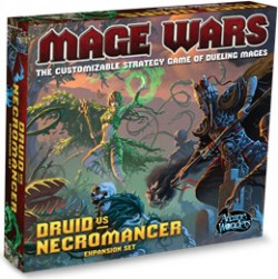 Mage Wars: Druid vs Necromancer