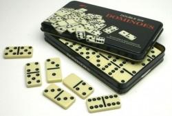 Domino 28 kamieni (puszka metalowa)