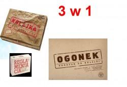 Kolejka+Ogonek+Reglamentacja zestaw (IPN) 3w1