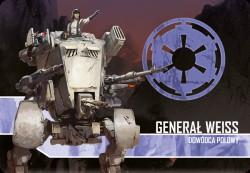 Star Wars: Imperium Atakuje:Generał Weiss, Dowódca polowy – zestaw przeciwnika