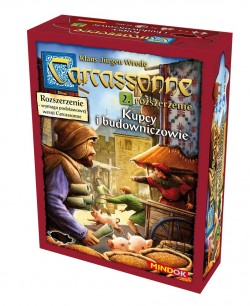 Carcassonne: Kupcy i Budowniczowie - nowa edycja