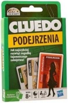 Cluedo Podejrzenia - gra w karty