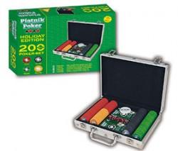 Zestaw Pokerowy Piatnik Holiday Poker 200 żetonów