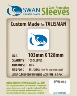 Koszulki Swan PanAsia karty postaci Talisman (103x128mm)