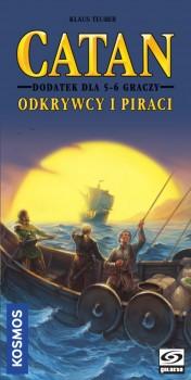 Catan - Odkrywcy i Piraci dodatek dla 5-6 graczy