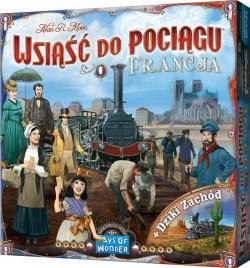 Wsiąść do Pociągu (Ticket to Ride): Francja i Dziki Zachód