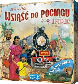 Wsiąść do Pociągu: Indie i Szwajcaria (Ticket to Ride: India/Switzerland)