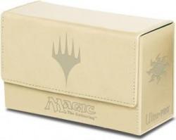 Pudełko na 200 kart MTG - Dual Flip Box White Mana