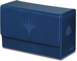 Pudełko na 200 kart MTG - Dual Flip Box Blue Mana