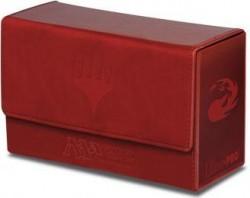 Pudełko na 200 kart MTG - Dual Flip Box Red  Mana
