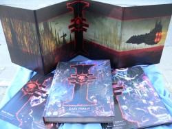 Zestaw : podręcznik podstawowy  Dark Heresy II RPG + Niezbędnik MG i dodatek Wróg Wewnętrzny